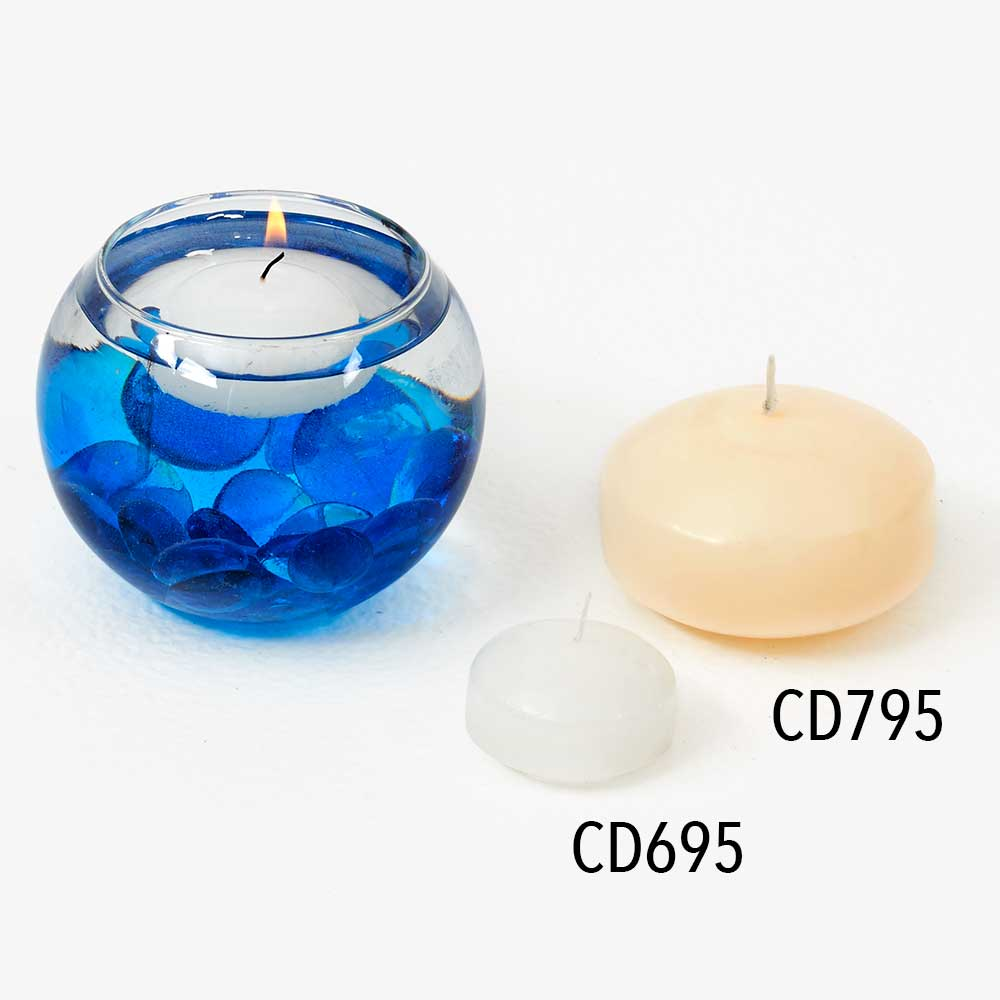 "1.75"" FLOATING DISC CANDLES"