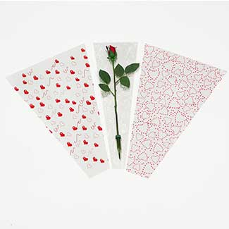 PRINTED BOUQUET SLEEVES