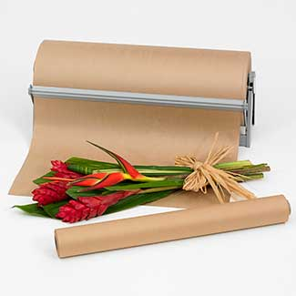 24 brown kraft paper roll floral supply syndicate for Brown craft paper rolls