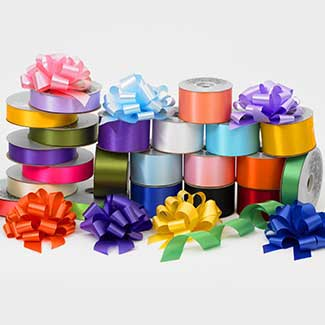 "4"" SATIN ACETATE RIBBON"