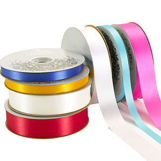 "9/16"" SATIN ACETATE RIBBON"