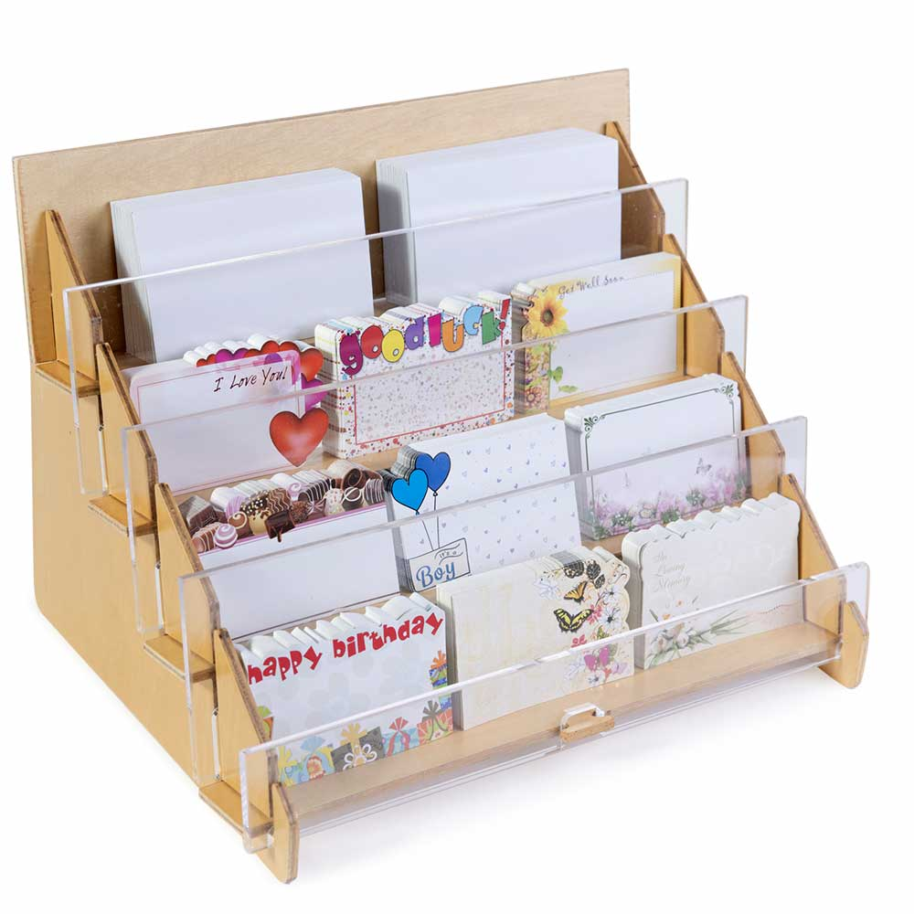 ACRYLIC CARD RACK