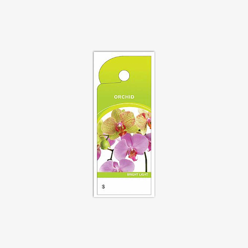 CARE TAGS, ORCHID
