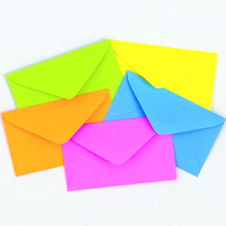 63 MEDIUM ENVELOPES