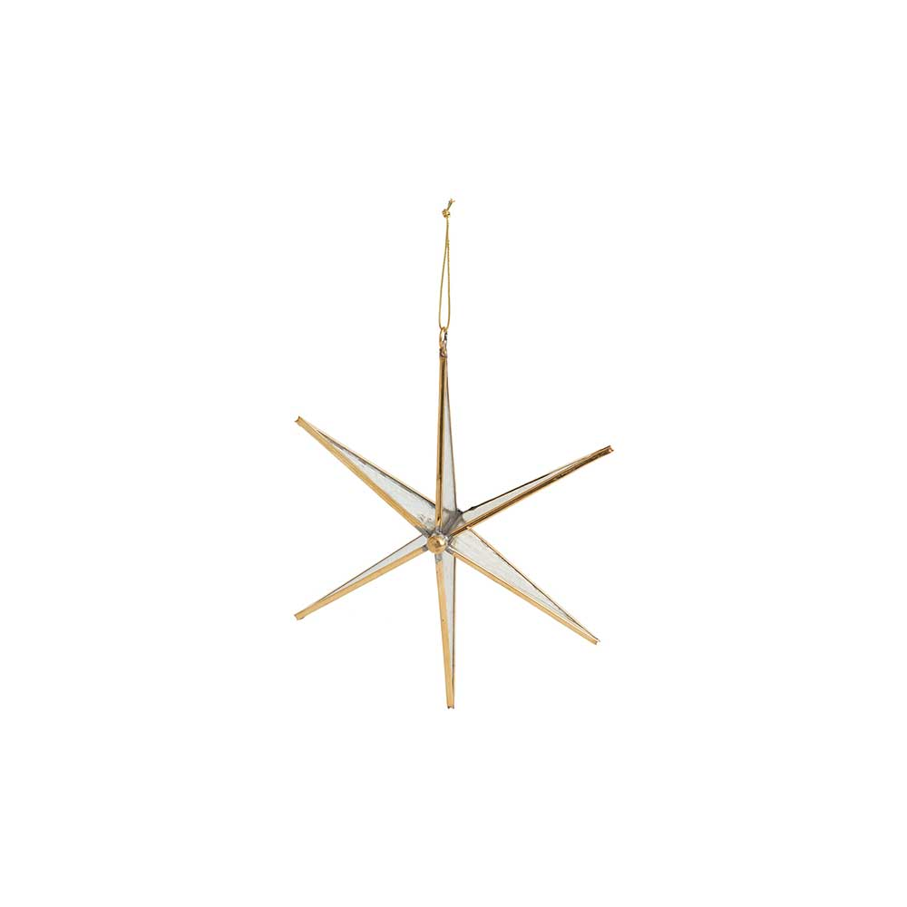 NORTHERN STAR ORNAMENT 6""