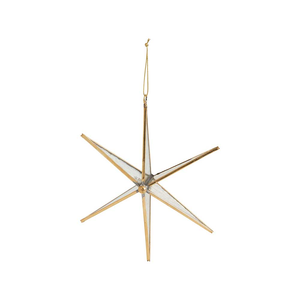 NORTHERN STAR ORNAMENT 8""