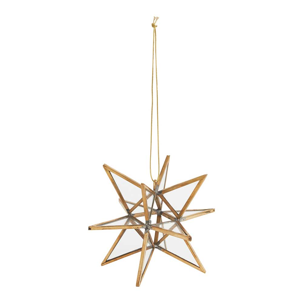 SUNBURST ORNAMENT 4""