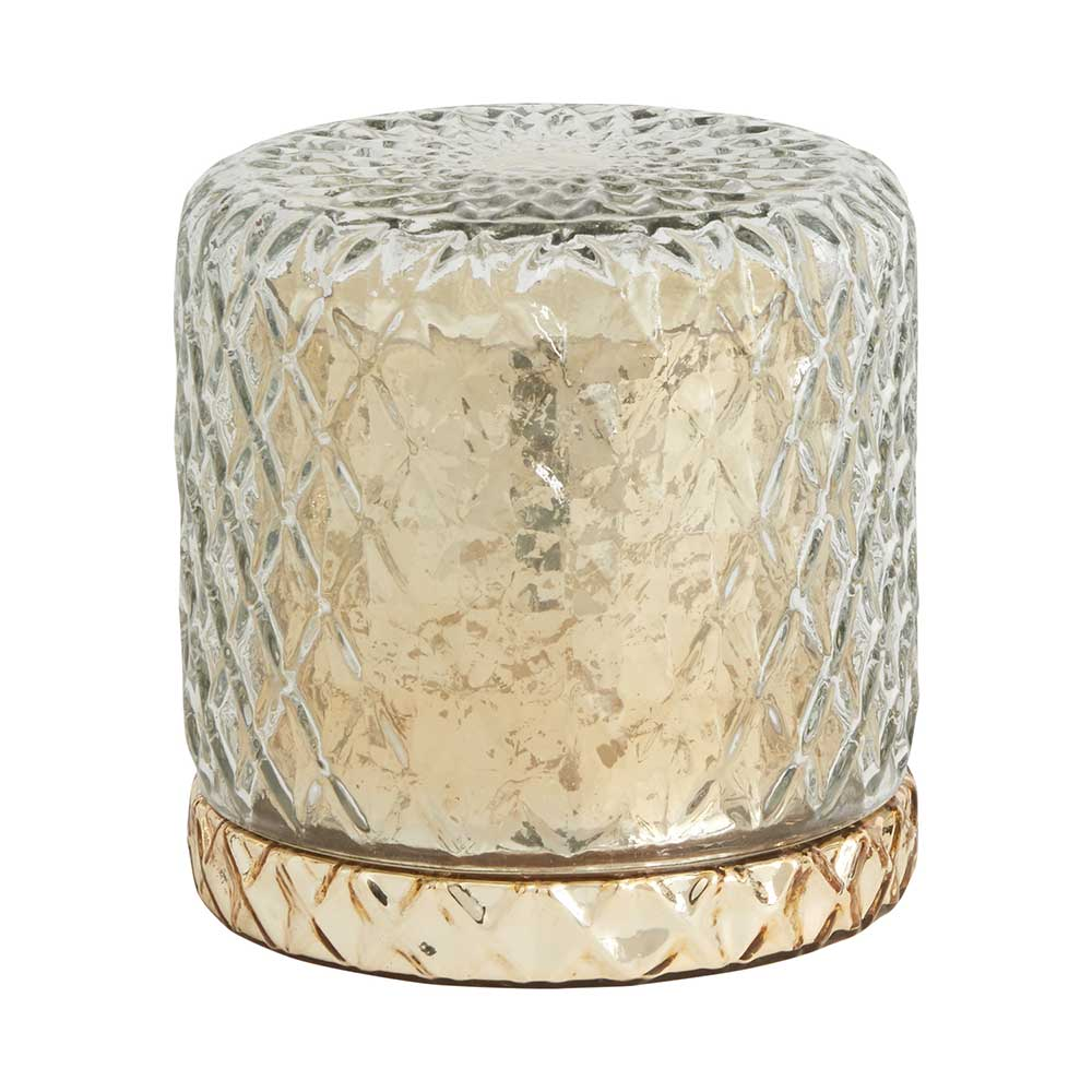"HOLIDAY JOY CANDLE 5.25""X 5.2"