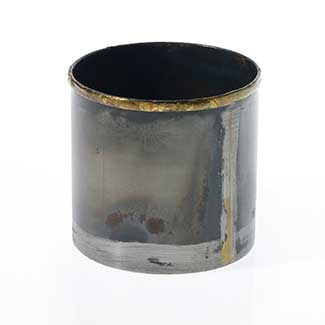 "NORMAN POT 3.25""X3"" BLACK"