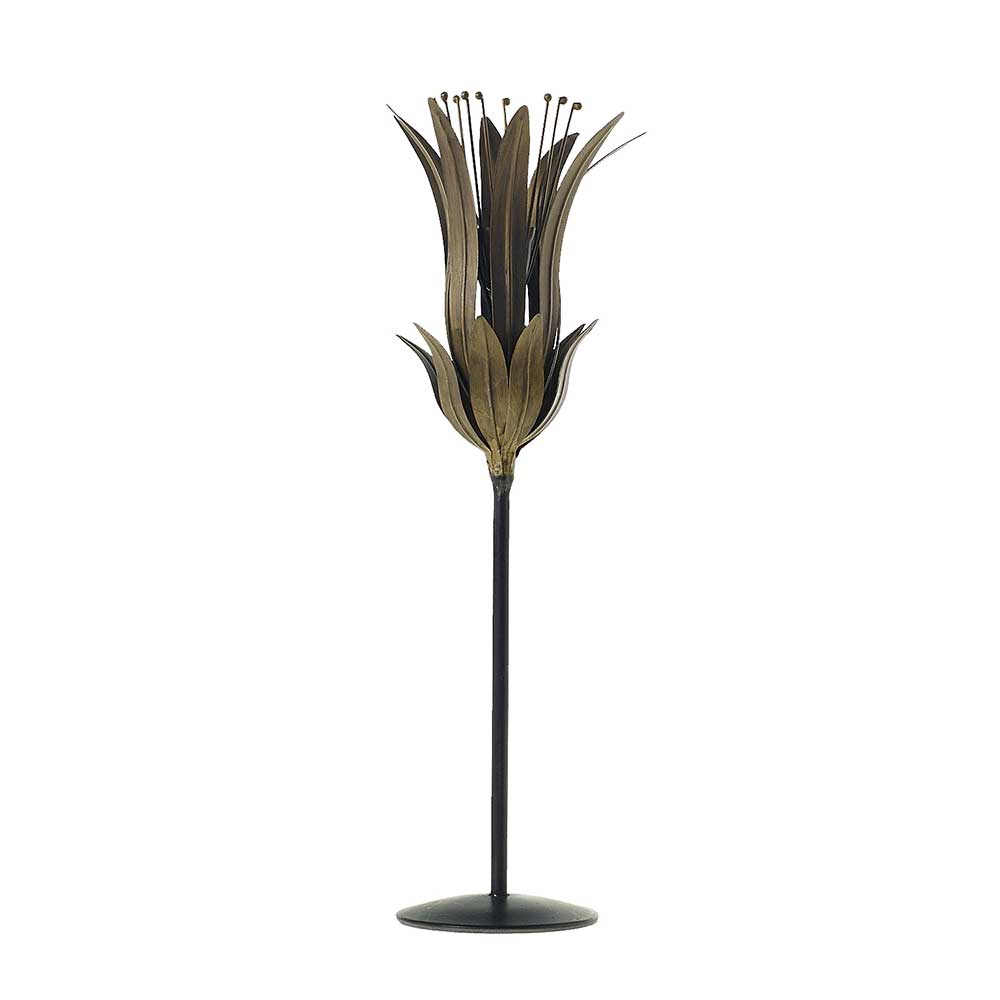LILY TAPERED CANDLEHOLDER 4.7