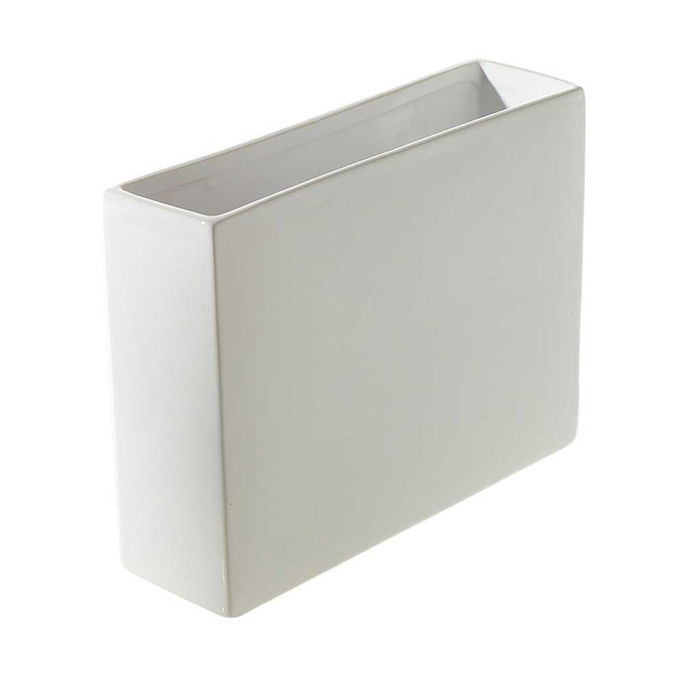 "URBAN PLANTER 4""X12"" WHITE"