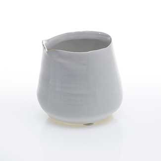 "TEGAN POT 3.25""X3"" WHITE"