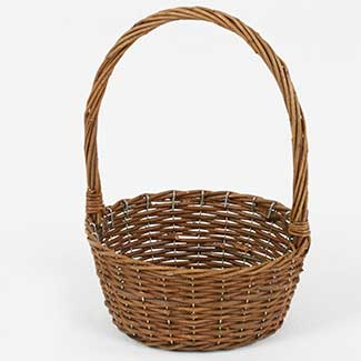 "8.5"" BASKET WITH HANDLE"
