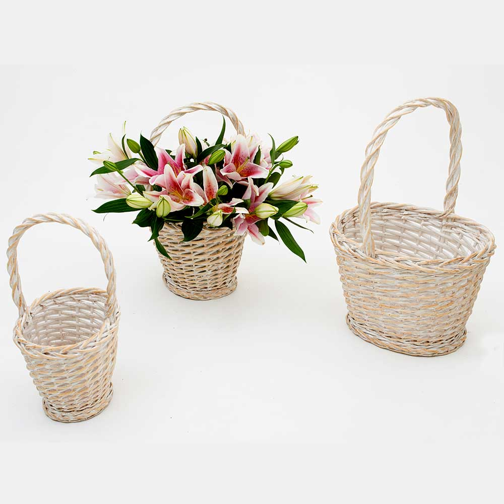 "23"" OVAL BASKETS"