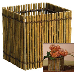 "5"" WILLOW BOX WITH LINER"