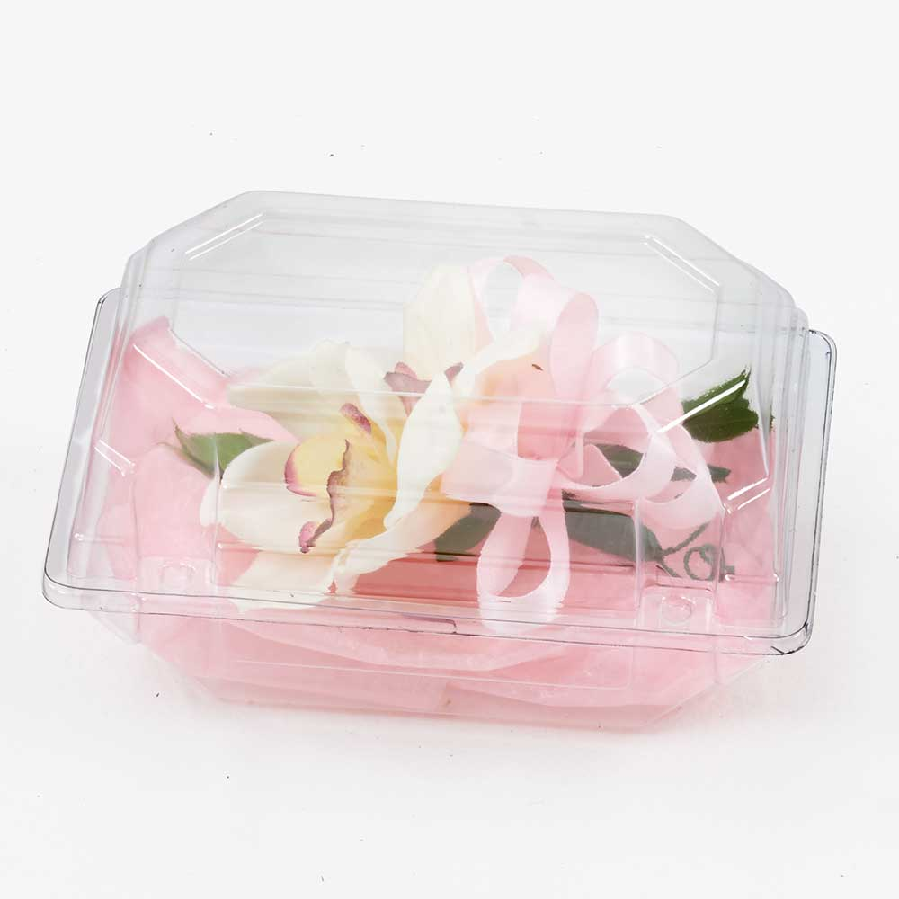 "9"" CLEAR CORSAGE BOX"