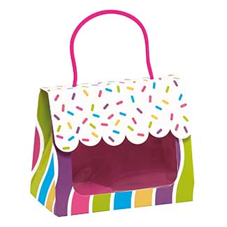 SMALL GIFT TOTE, CANDY SPRINKLES