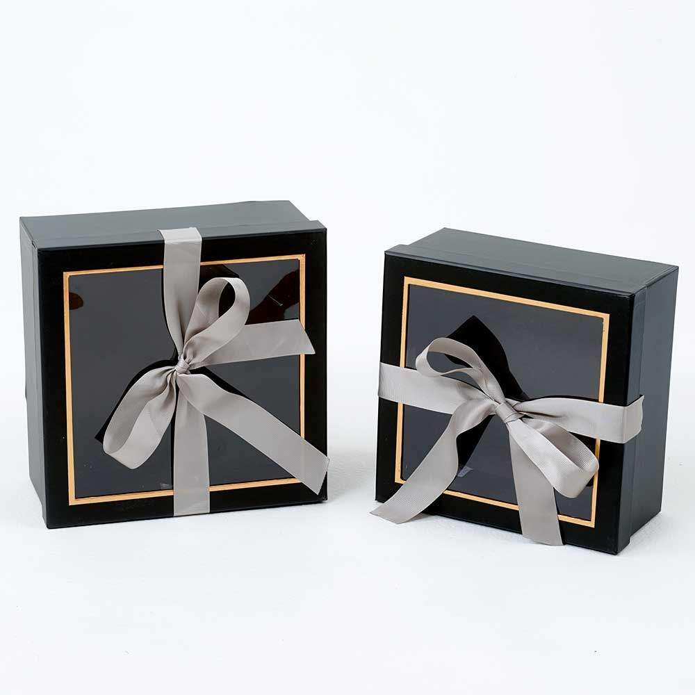 WIN. GIFT BOXES,BLACK