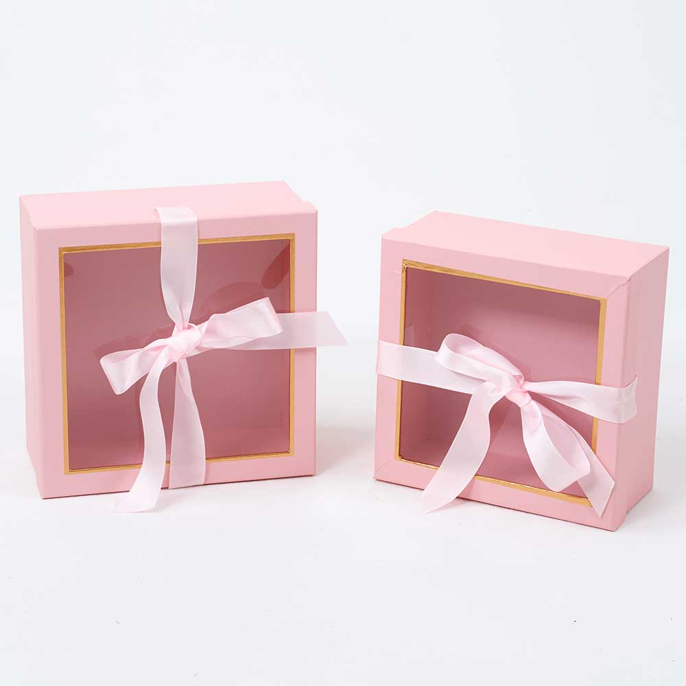 WIN. GIFT BOXES,PINK