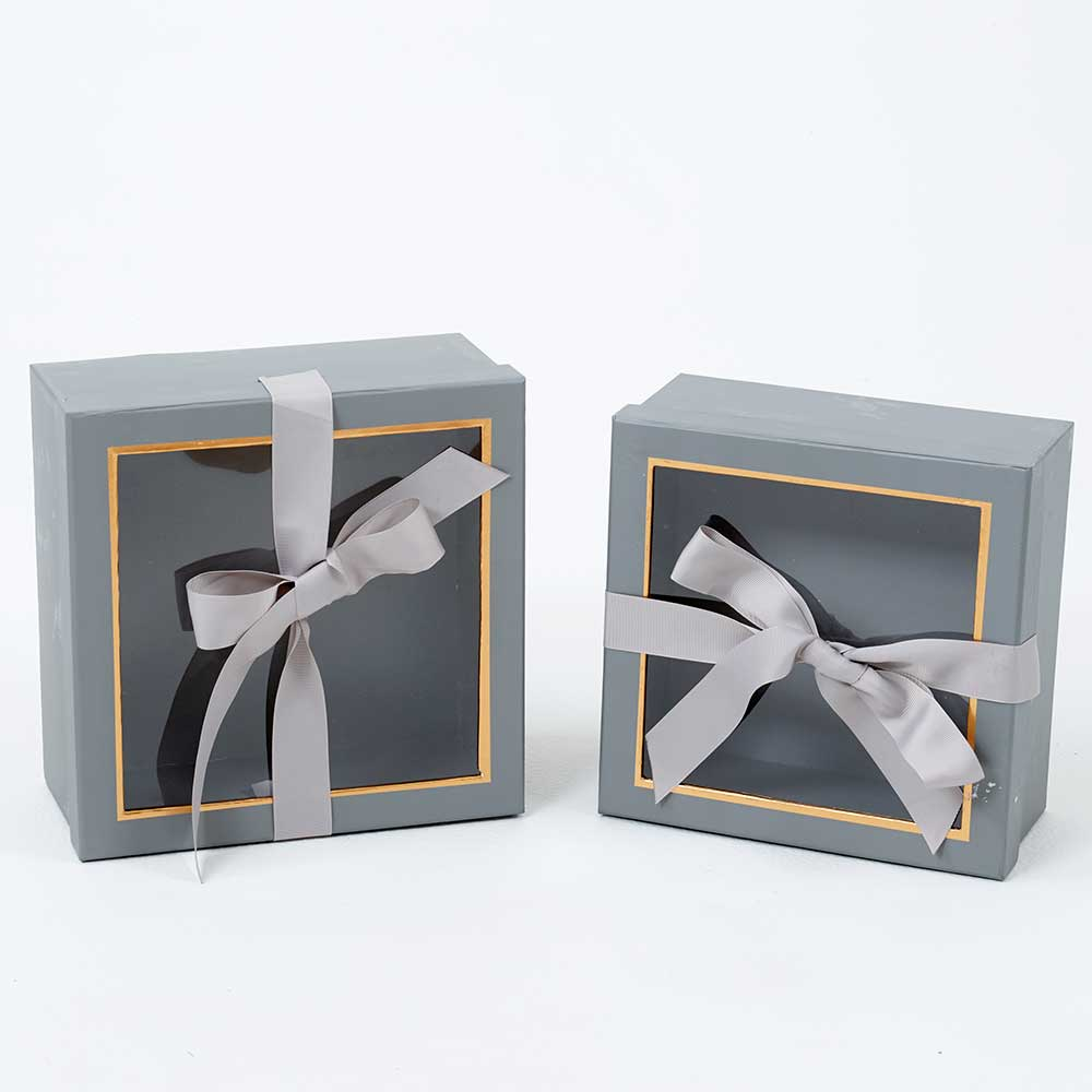 WIN. GIFT BOXES,SILVER