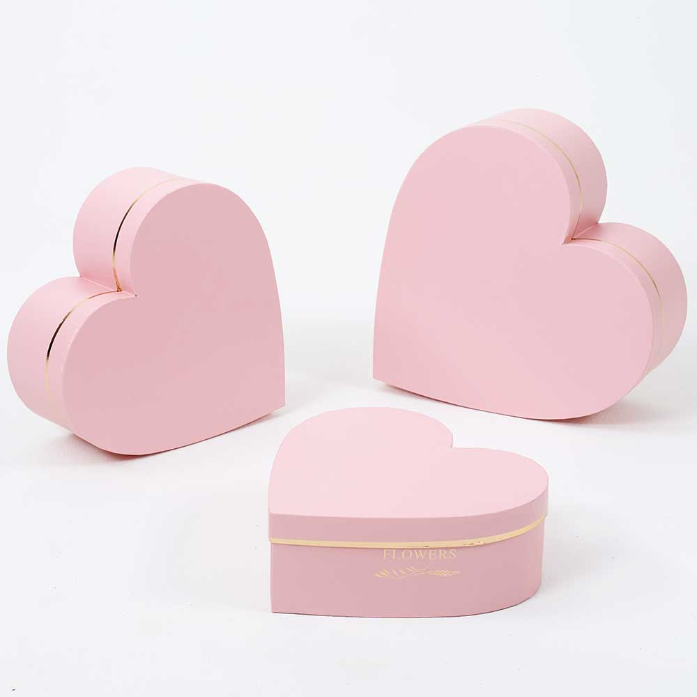 HEART BOXES,PINK