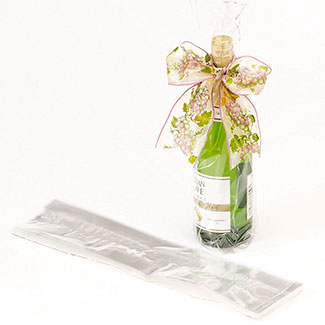 CLEAR BOTTLE BAGS