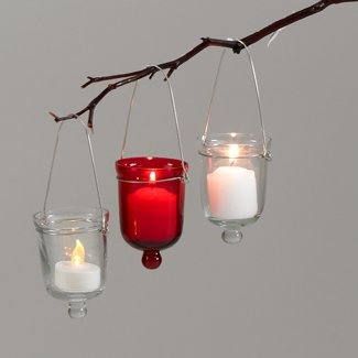 HANGING GLASS VOTIVE