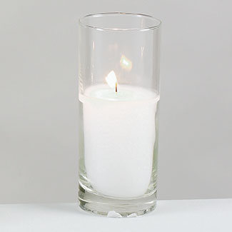"15 HOUR VOTIVE IN 5.25"" GLASS"