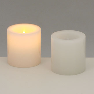 "2"" X 2"" LED VOTIVE CANDLE"