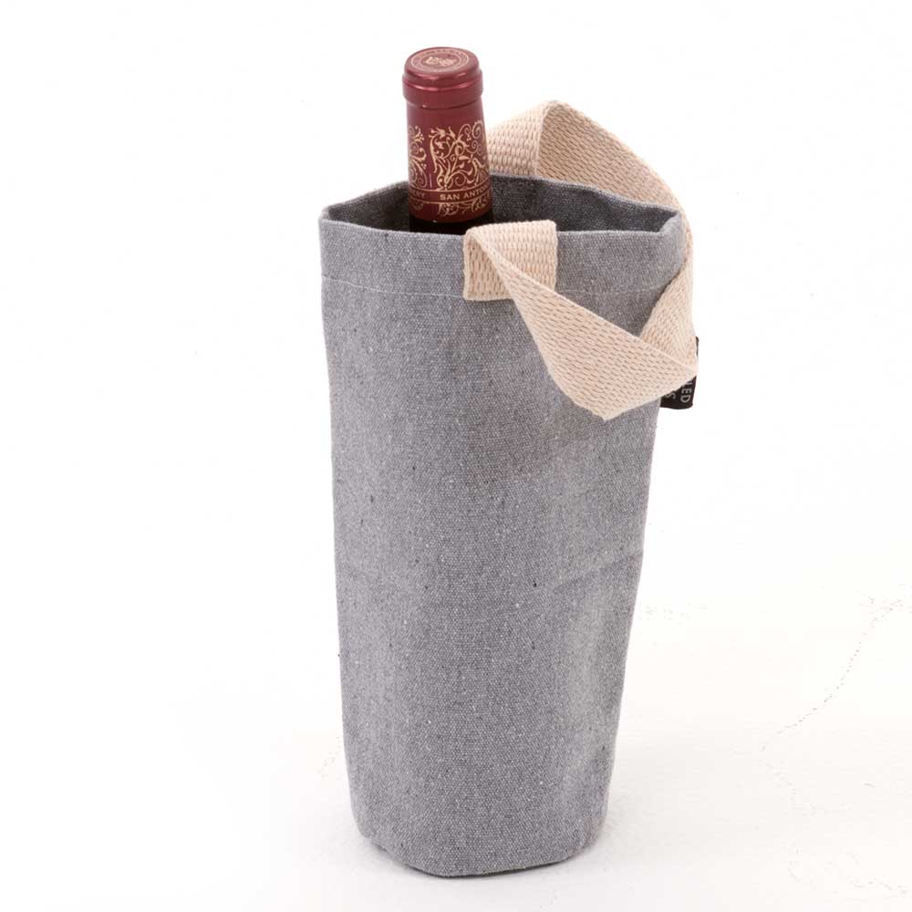 "10"" RECYCLED CANVAS BOTTLE BA"
