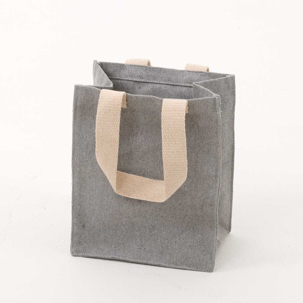 "10"" RECYCLED CANVAS TOTE"