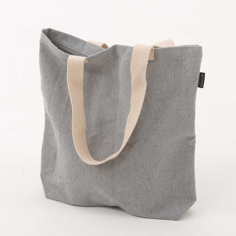 "14"" RECYCLED CANVAS TOTE"