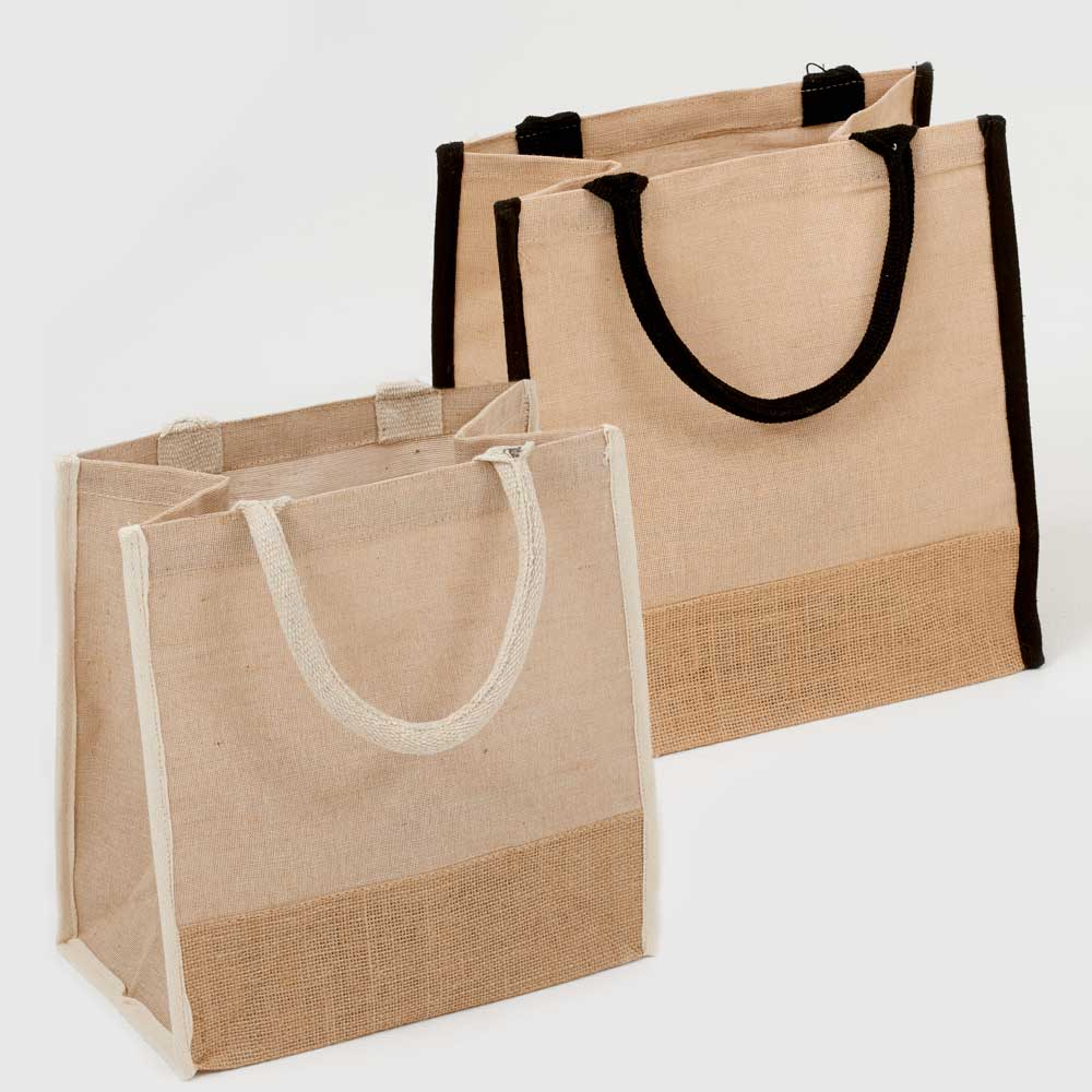 JUCO TOTE W/ LAMINATED LINING