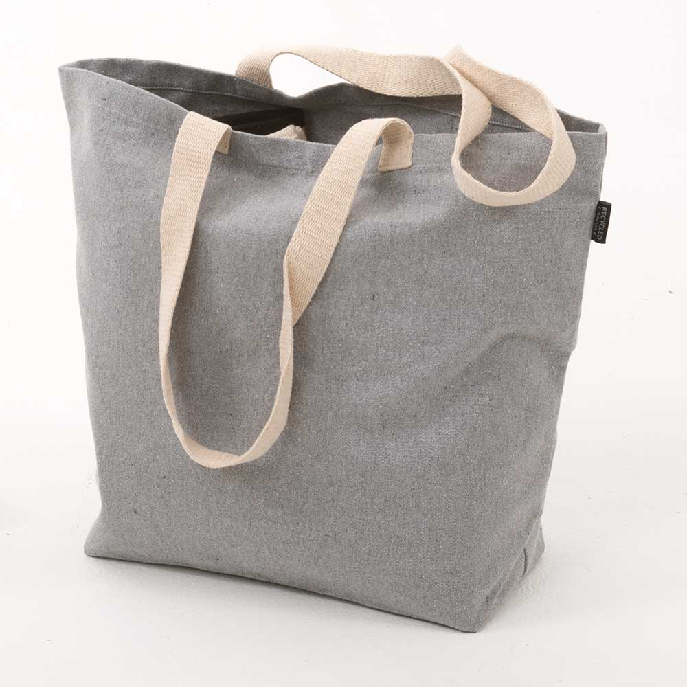 "15"" RECYCLED CANVAS TOTE"