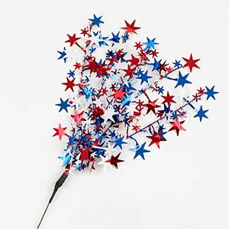 RED/WHITE/BLUE STAR SHOOTS