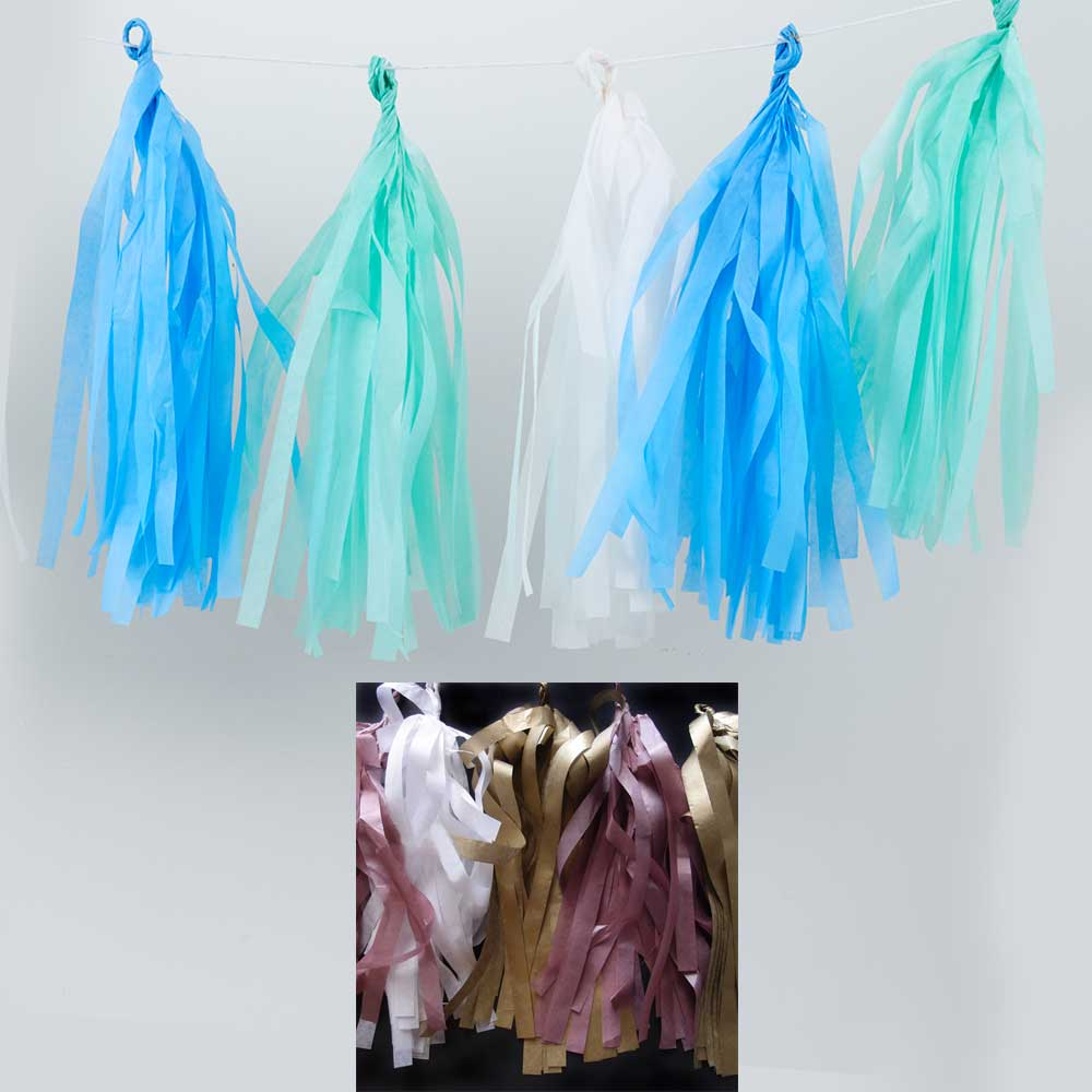 10' TASSEL GARLAND KIT