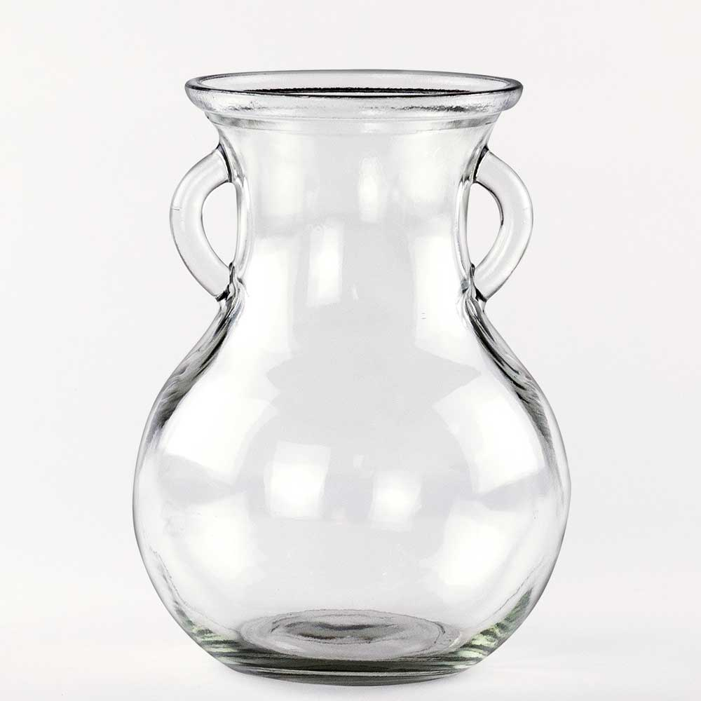 "GLASS   8"" NORAH VASE"