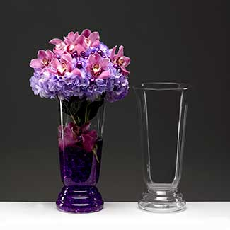 Glass Vases, Recycled