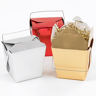 Decorative Take-Out Boxes