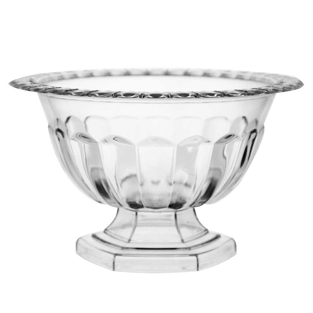 "6.5"" ABBY COMPOTE,CLEAR"