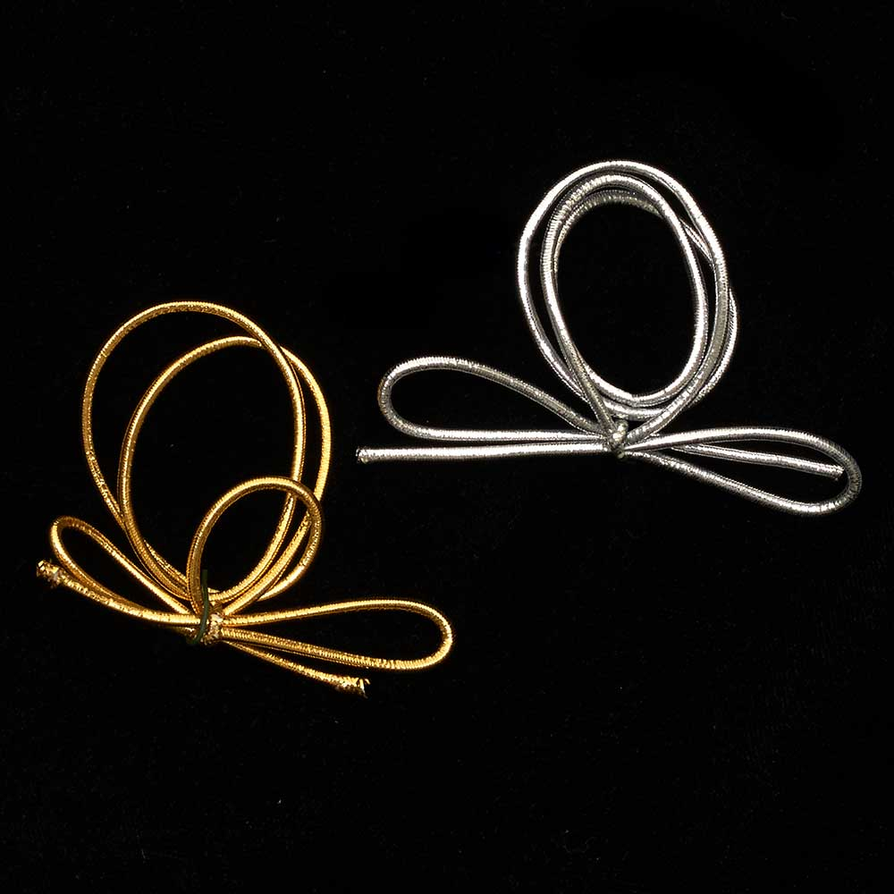 "16"" ELASTIC LOOPS RIBBON"