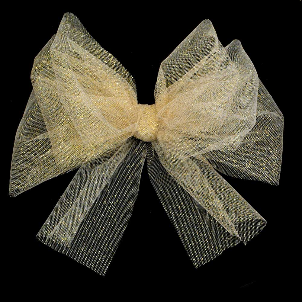 "6"" SPARKLE TULLE RIBBON"