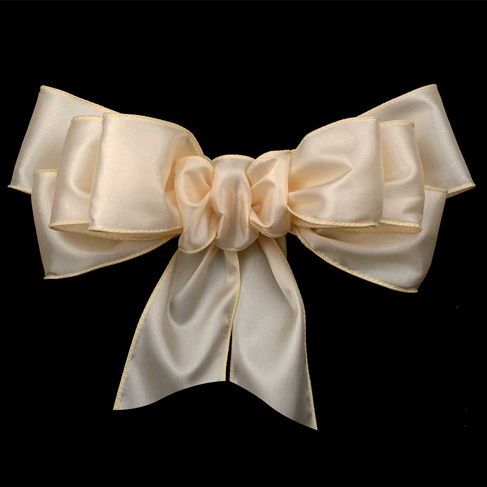 "1 3/8"" WIRED SILKY SATIN RIBBON"