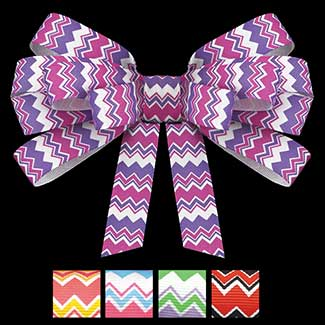 "7/8"" MULTI CHEVRON RIBBON"