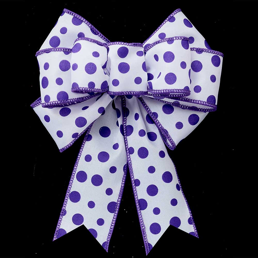 "1 3/8"" WIRED RAINDROPS RIBBON"