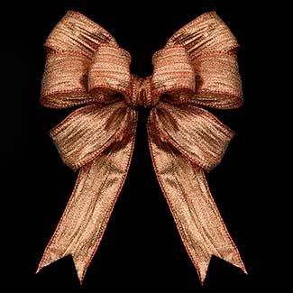 "1 3/8"" WIRED CRUSHED ELITE RIBBON"
