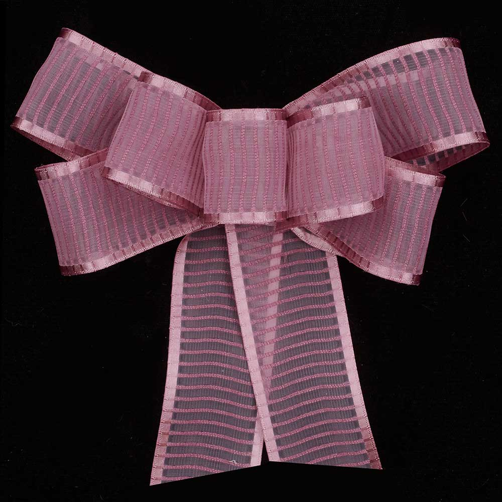 "1 3/8"" MONO EDGED SHEER ANTONIA RIBBON"