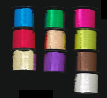 METALLIC CRIMPED CURLING RIBBON