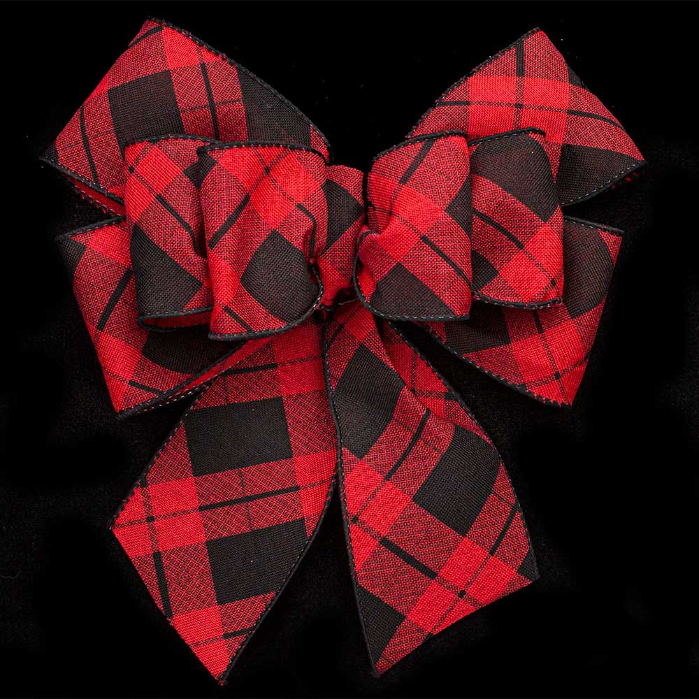 "2 1/2"" WIRED ARGYLE RIBBON"