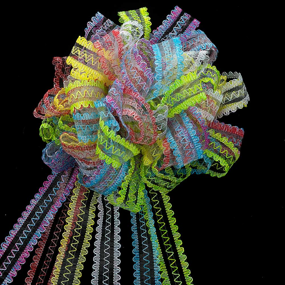 17MM SCALLOPED CURLS RIBBON